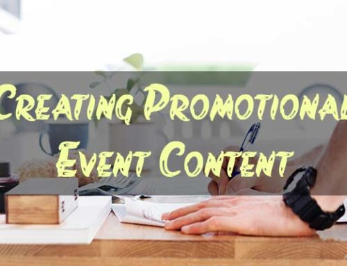 6 Promotional Event Content Types